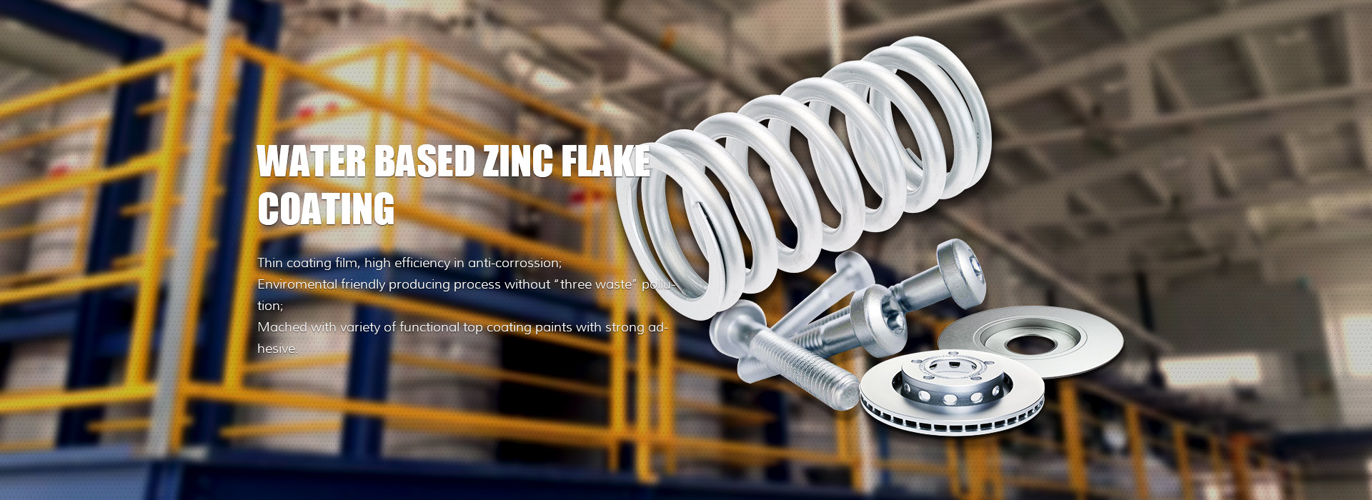 Changzhou Junhe Technology Stock Co.,Ltd Introduces Zinc Flake Coating Line With An Automatic Design Integration That Minimizes Wastes And Saves Labor & Cost